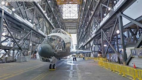 ht space shuttle atlantis google street view ll 120801 wblog Google Street View: Back Roads and ... Space Shuttles