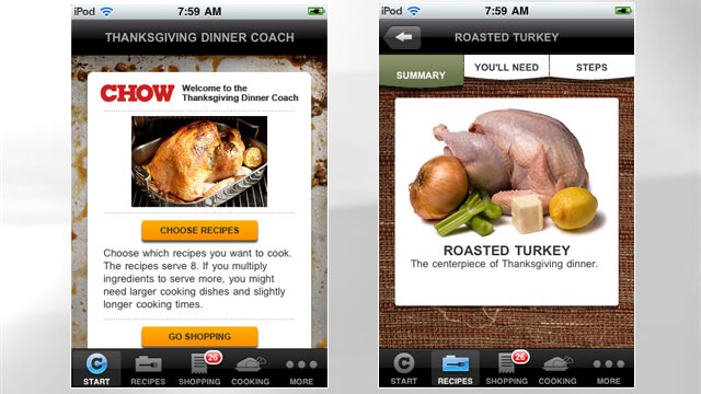 ht thanksgiving app cc 111110 wmain 7 Thanksgiving Apps For the Ultimate Holiday Feast