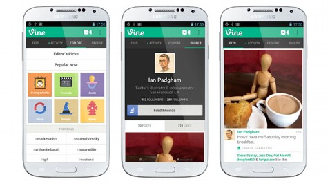 ht vine android lpl 130603 wblog Twitters Vine App Comes to Android