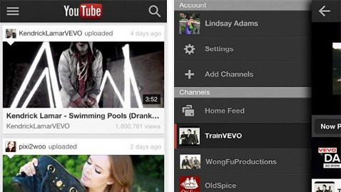 ht youtube app ll 120914 wblog App of the Week: YouTube for iOS Runs on iPhone, iPod