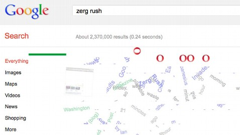 ht zerg rush dm 120427 wblog Zerg Rush Is Googles Newest Easter Egg