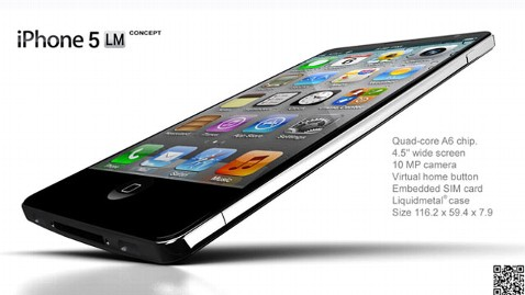 iPhone5 liquidmetal 1 NAK thg 120503 wblog Liquidmetal iPhone 5 Just a Concept
