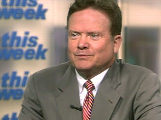 "PHOTO Sen. Jim Webb, D-Va., visits ""This Week with George Stephanopoulos,"" on Sunday, May 17, 2009."