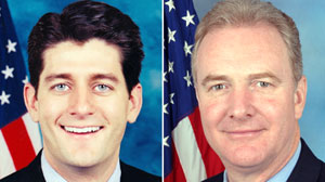 ht ryan hollen 110106 wmain Chris Van Hollen to Play Paul Ryan for Biden Debate Prep