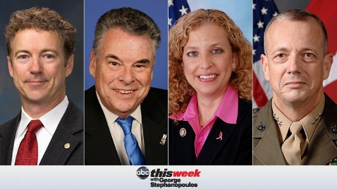 thisweek paul king schultz allen 130524 wblog Coming Up on This Week: Sen. Rand Paul; Ret. Gen. John Allen; Two Powerhouse Roundtables