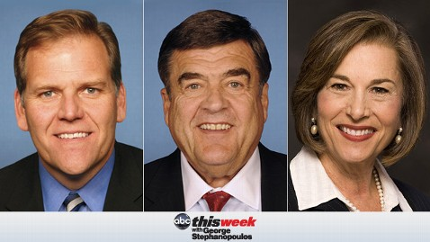 thisweek rogers  ruppersberger schakowsky 130426 wblog Coming Up on This Week: Rep. Mike Rogers, Rep. Dutch Ruppersberger, and Rep. Jan Schakowsky