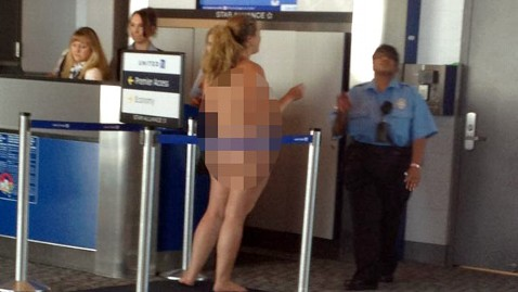 Right! like naked at the airport