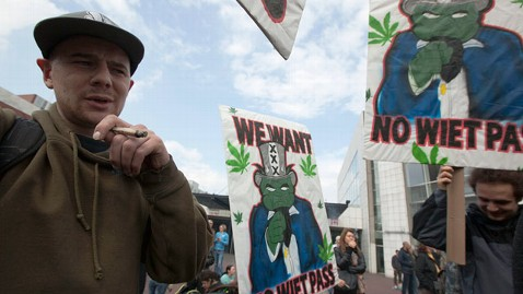 ap Netherlands Marijuana jt 120427 wblog Netherlands Bans Foreigners From Cannabis Cafes