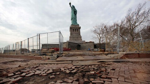 ap statue of liberty tk 130320 wblog Statue of Liberty to Reopen by July 4