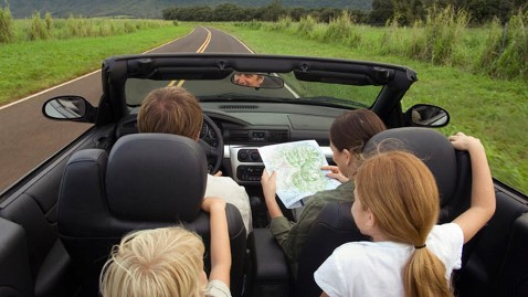 gty Family car Vacation thg 120613 wblog Are We There Yet? Survey Reveals How Many Times Kids Ask