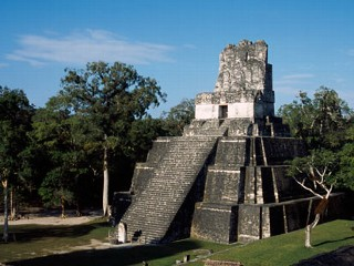 PHOTO: An ancient stone temple in Guatemala suffered significant damage from 'end of the word' party goers earlier this month.