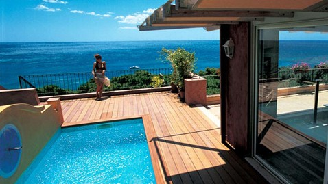 ht Le Dune Forte Village Resort Sardinia pool villa roomthg 120907 wblog 11 Most Expensive Hotels in the World