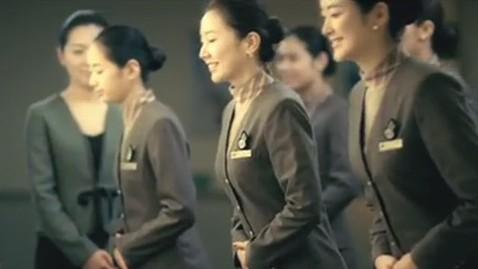 ht asiana airlines tk 130206 wblog South Korean Flight Attendants Want Pants