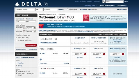 ht delta tk 120413 wblog Delta Airlines New Fare Class: Cheaper, No Seat Assignment