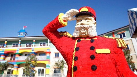 Legoland Hotel Opens, N. America's First