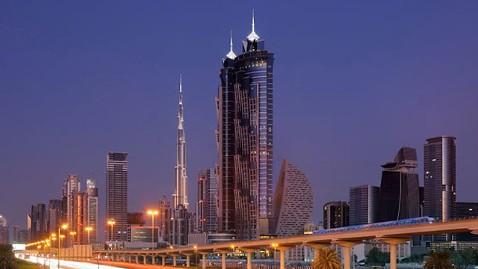 ht marriott dubai tk 130304 wblog Worlds Tallest Hotel Opens in Dubai