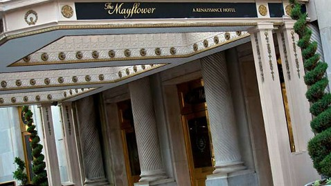 ht mayflower exterior nt 120629 wblog Weekend Explorer Deal: The Mayflower Renaissance in Washington, D.C.