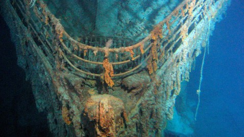 ht titanic bow nt 120313 wblog Groupon Offers Titanic Expedition Vacation