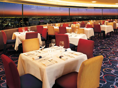 With A View Of One The World S Most Recognizable Skylines In New York Is City Only Revolving Roof Top Restaurant
