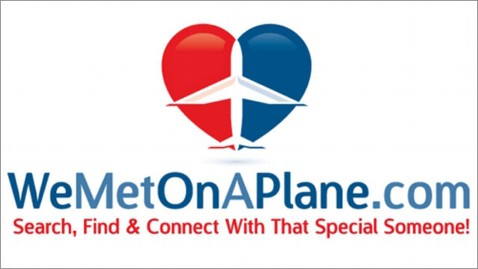 ht we met on a plane wy 120202 wblog Web Site Helps Fliers Find Love After Landing