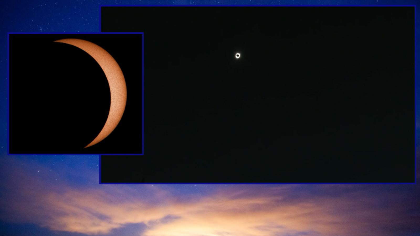 VIDEO: Viewing the eclipse from Idaho Falls, ID