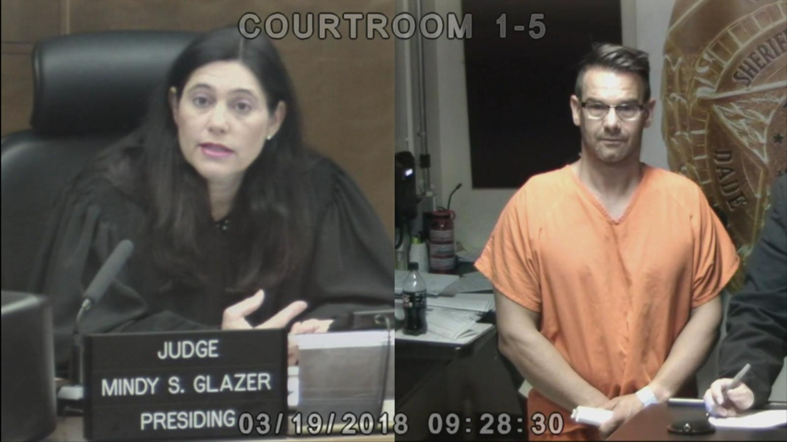 VIDEO: Kevin Easterly, 45, is agreeing to be extradited to Pennsylvania, he said in a brief court appearance in Miami today.