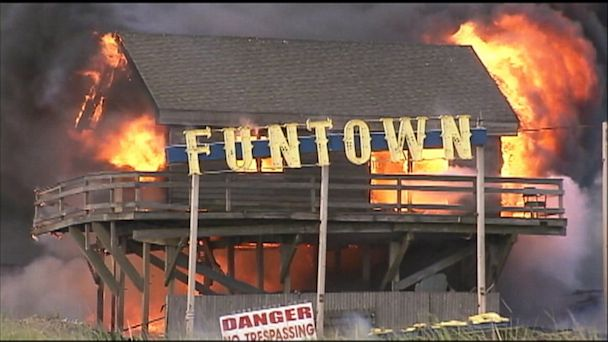 ABC funtown seaside lpl 130912 16x9t 608 NJ Boardwalk Fire to Be Ruled Accidental