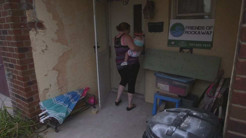 PHOTO: Kathy Richardson's home in Rockaway, pictured here in the summer of 2015, was damaged by Superstorm Sandy and took years to bring back to livable conditions with the help of local charities.