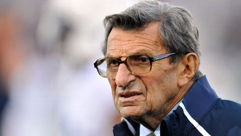 AP joe paterno nt 120123 wblog Nike Pulls Joe Paternos Name From Child Care Center