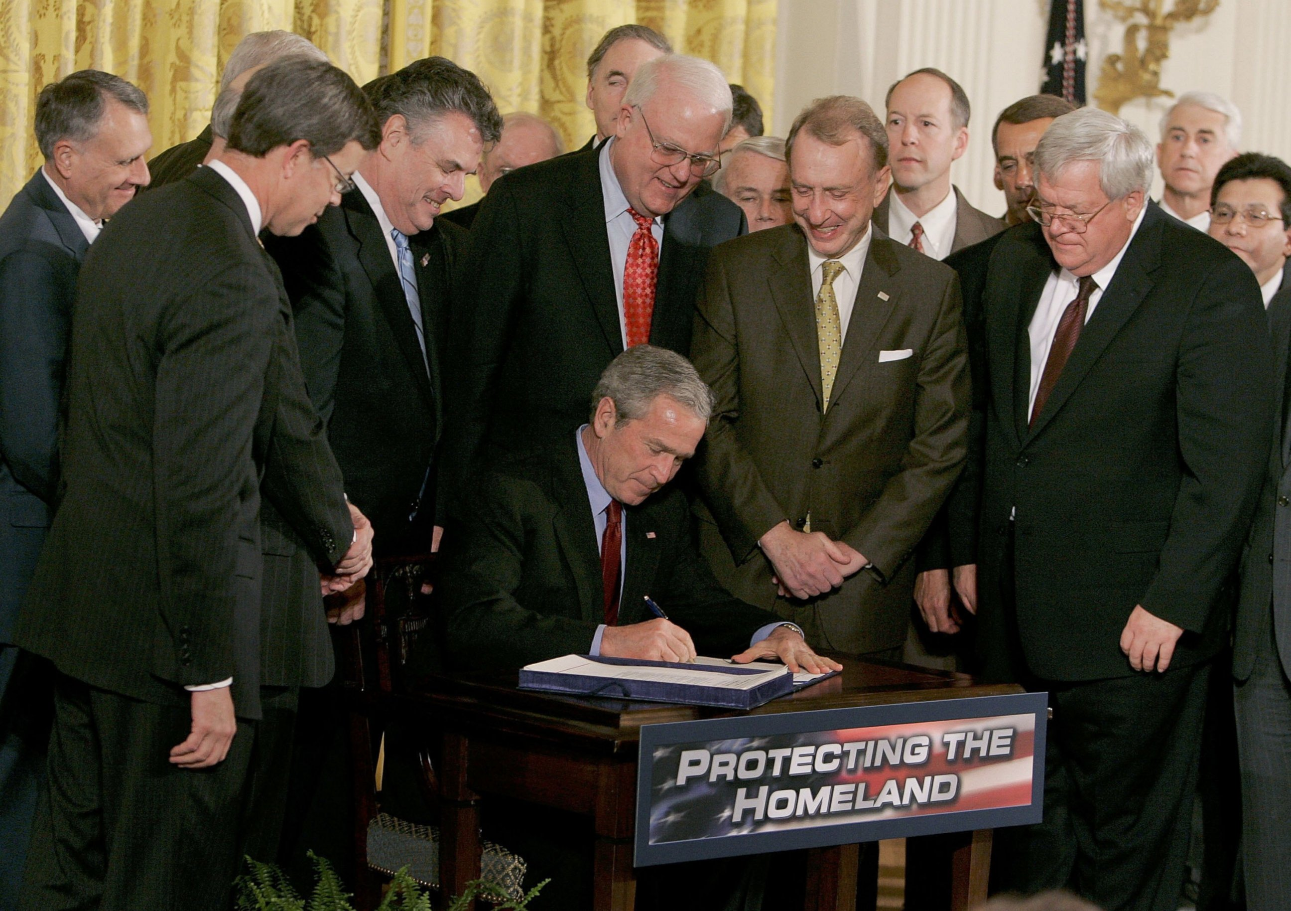 A history of the patriot act signed by george w bush
