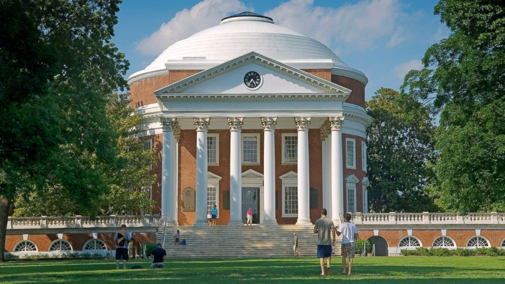 PHOTO: Rotunda at the University of Virginia, Charlottesville.