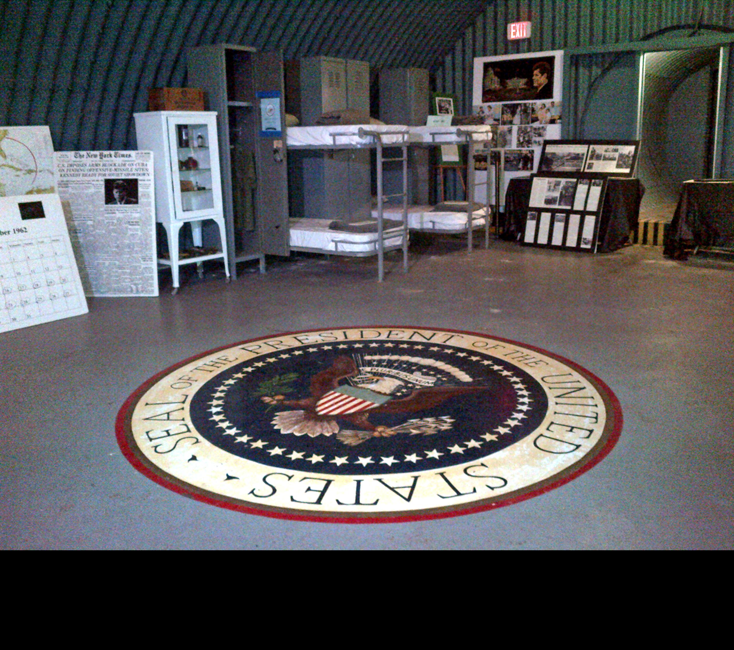 Inside The Bunker Built For President Kennedy Family In