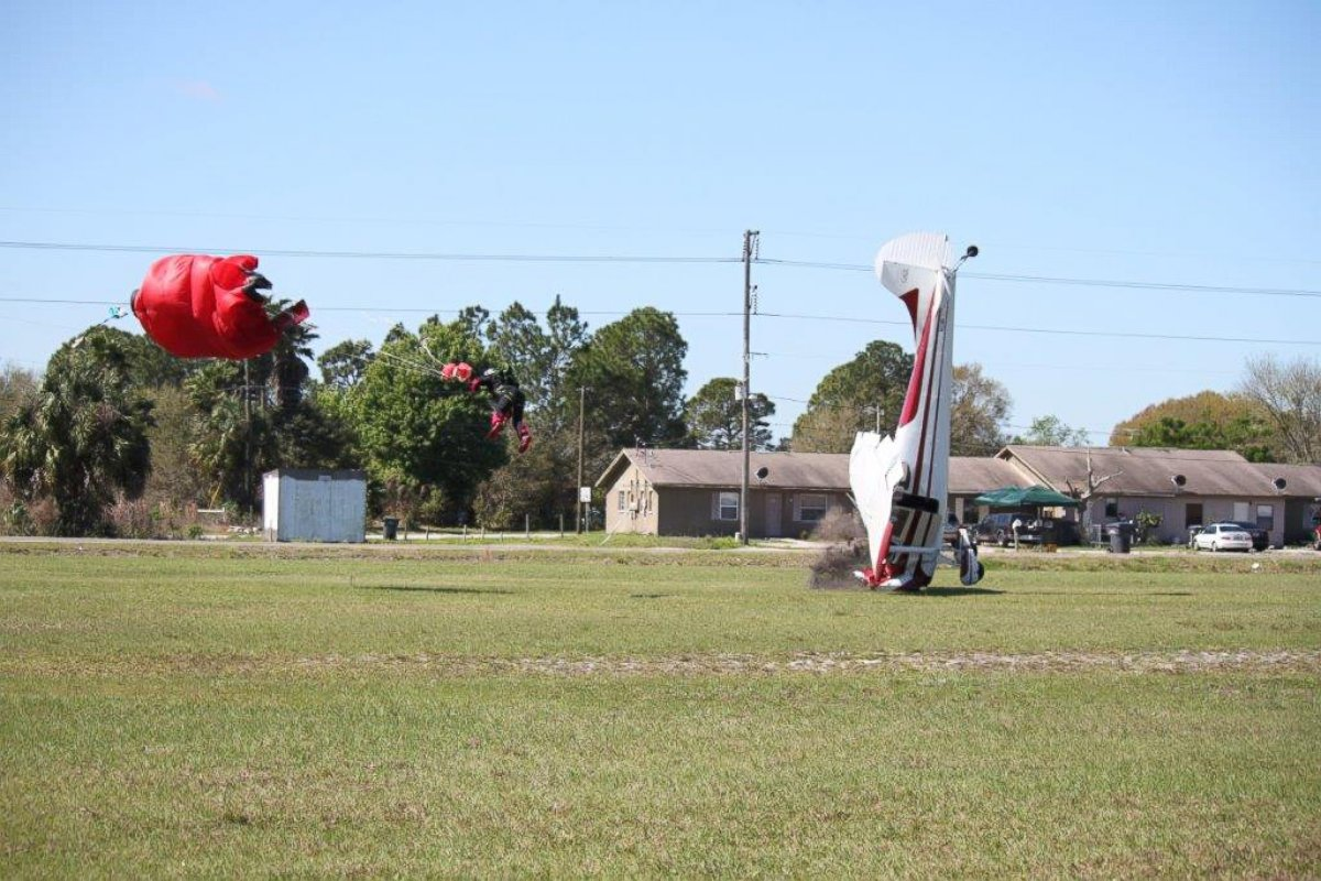 HT cessna collision 6249 5 jt 140309 Skydiver Calls It Unimaginable That Plane Hit Him, But Hell Jump Again