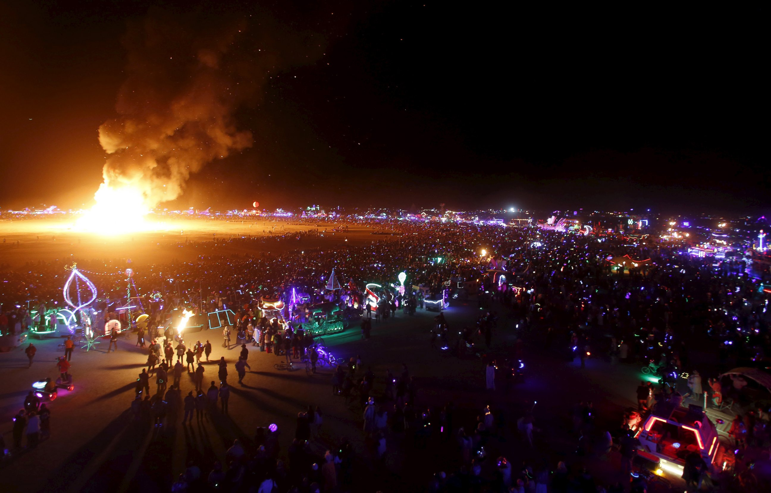 Image result for burning man images music festival