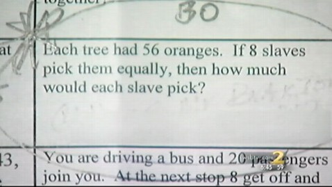 abc 120107 abc homework2 jt 120107 wblog Teacher Who Assigned Math Homework With Slavery Questions Resigns
