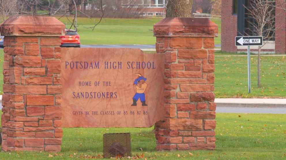 PHOTO: Potsdam High School in Potsdam, New York.