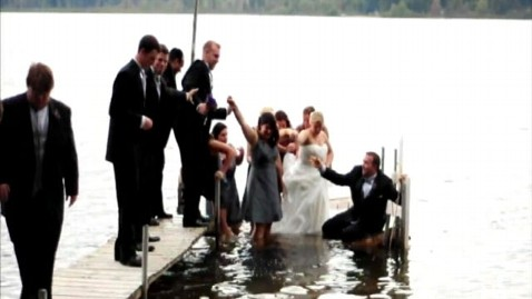 abc ann bridal plunge jt 110928 wblog Entire Wedding Party Falls Into Lake