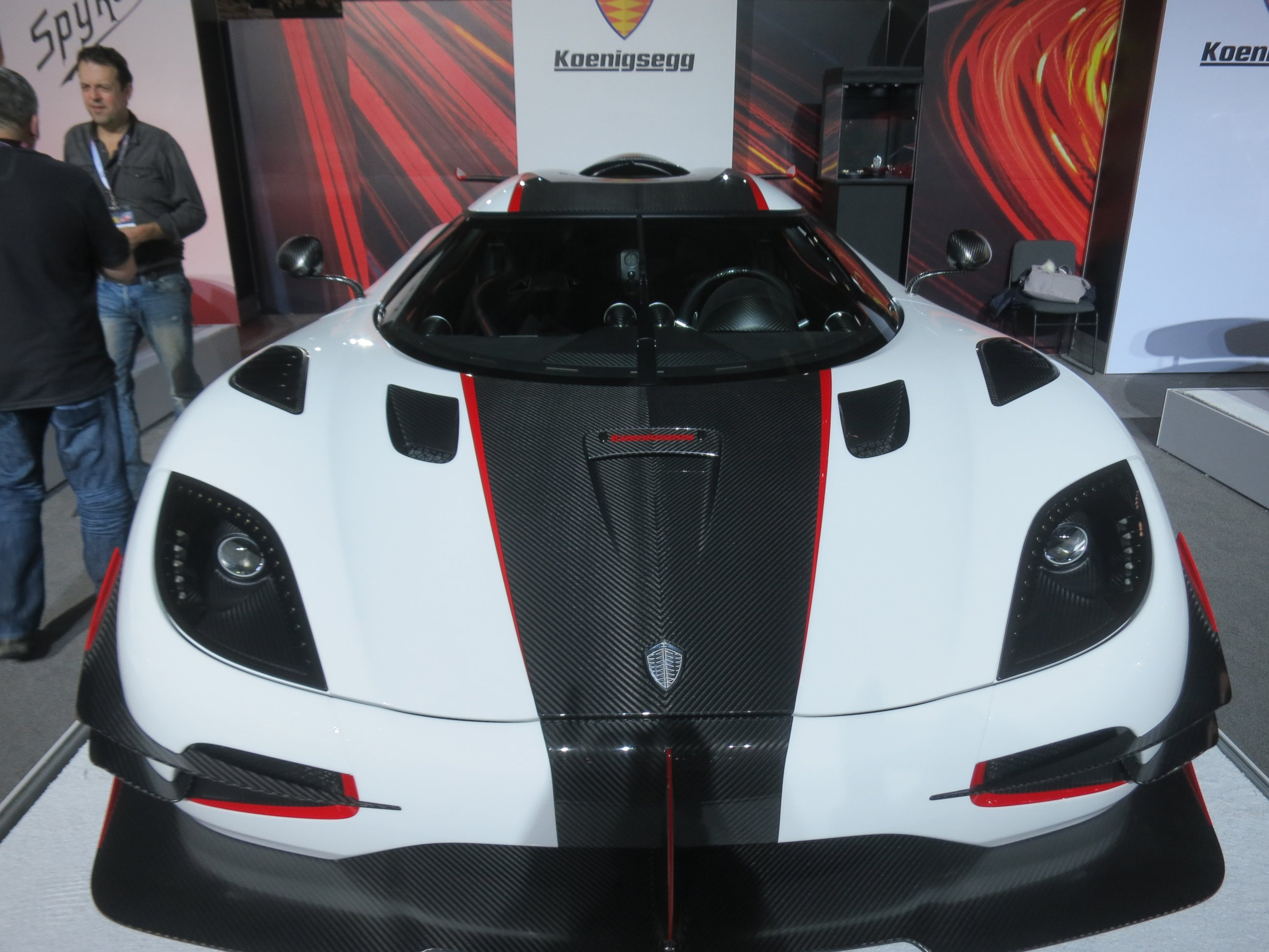 Photo Sweden S Koenigsegg Automotive Ab One 1 Is Named For Its To Weight Ratio With Megawatt Or 360hp Match 360kg Curb A