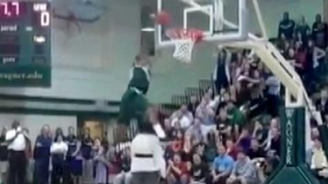 abc boy dunks jef 111018 wblog Basketball Player Slam Dunks Over His Mom