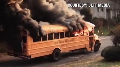 abc burning bus tk 120210 wblog N.C. School Bus Driver Saves Students From Burning Bus