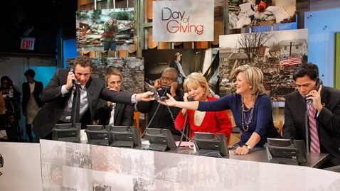 abc day of giving phones thg 121105 wblog ABCs Day of Giving to Help Hurricane Sandy Victims: Live Blog