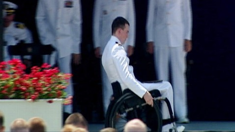 abc kevin hillery ll 120529 wblog Naval Academy Graduates First Paraplegic Student