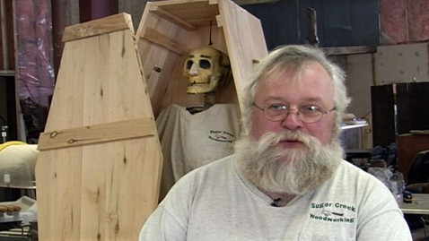 abc ksax caskets workshop nt 120417 wblog Woodworker Offers Build Your Own Coffin Class