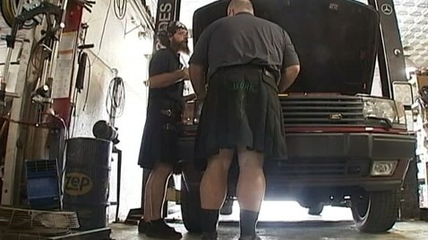 abc mechanics kilts tk 120815 wblog Leg Baring Auto Mechanics Chose Made in America Kilts