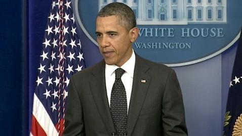 abc obama presser jef 111121 wblog Obama Threatens Veto on Bid to Avoid Automatic Cuts as Supercommittee Fails
