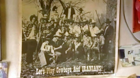 abc racist restaurant 111104 wblog Lets Play Cowboys and Iranians: Lynching Poster Sparks Protest