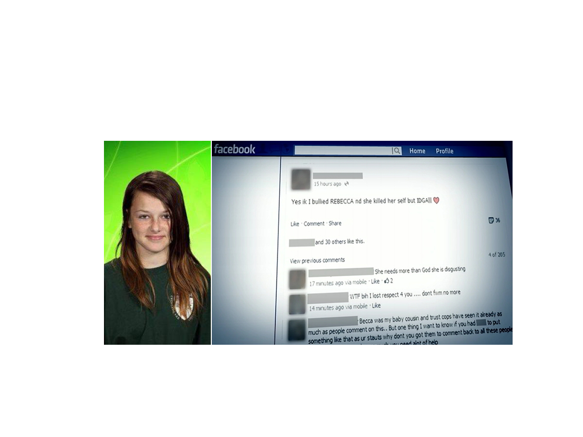 abc rebecca sedwick facebook lpl 131016 Mom of Suicide Teen Rebecca Sedwick May Sue Accused Bullies Parents