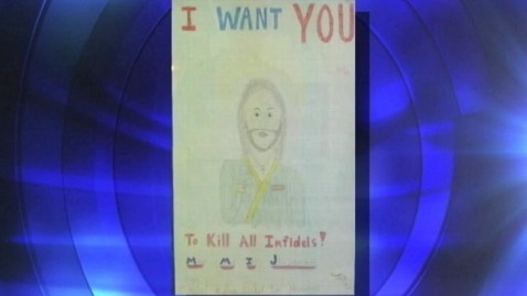 abc sacrilegius poster grab jt 120609 wblog Kill All Infidels Poster at Calif. School Sparks Debate