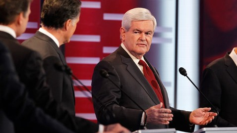 abc upset newt 126866 Q1H1577 tk wblog Democrats Blast Newt Gingrich in First Video Ad as Original Tea Partier