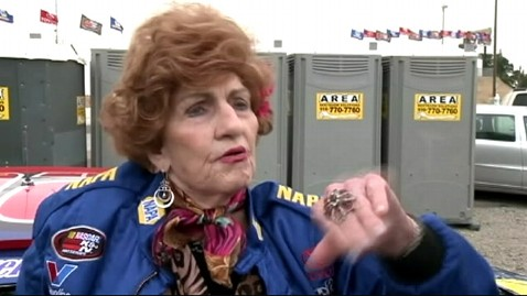 abc wabc laverne everett ll 121012 wblog Grandma Who Survived Faulty Skydive Takes Up NASCAR